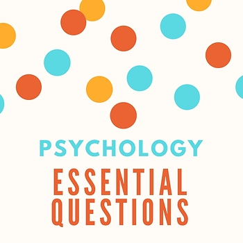Psychology Essential Questions Posters