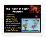 Psychology: Fight or Flight Response w/Critical Thinking PowerPoint