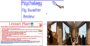 Psychology Fly Swatter Vocabulary Review Game with ALL Units included