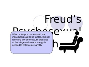 Psychology - Freuds Psychosexual Theory