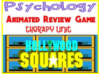 Psychology Hollywood Square ANIMATED Review Game-Therapy unit