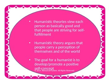 Psychology: Humanistic Theories of Personality