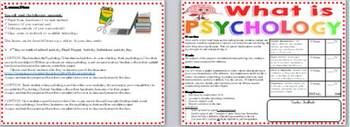 Psychology IS Project Activity