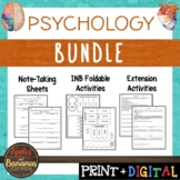 Psychology - Interactive Note-Taking BUNDLE