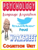 Psychology Language Acquisition Cognition Skinner vs Chomsky Twitter Feud