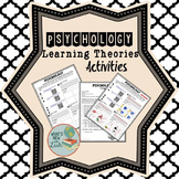 Psychology Learning Theories Activities