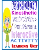 Psychology Learning Unit kinesthetic board  activity  reinforcement  punishment