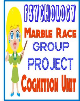Psychology Marble Race Cognition Group Activity for Problem Solving Mental Set