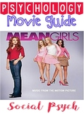 Psychology Mean Girls Movie Questions for Social Psychology Unit