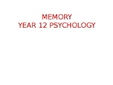 Psychology - Memory - Introduction and Duration of Short T