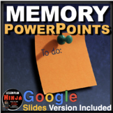 Psychology: Memory PowerPoints with Video Links & Lecture Notes - Psychology