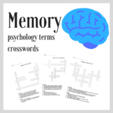 Psychology Memory Terms Crossword