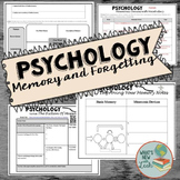 Psychology Memory and Forgetting Activities