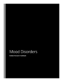 Psychology-Mood Disorders-Student Research Workbook