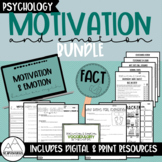 Psychology: Motivation & Emotion Bundle