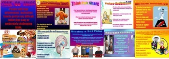 Psychology Motivation PowerPoint Activities and Quiz Questions
