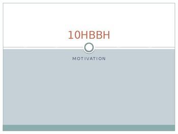 Psychology - Motivation notes