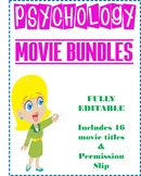 Psychology Movie Bundle with over 16 titles