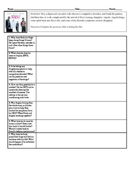 Psychology Movie Guide Matchstick Men for Abnormal Mental