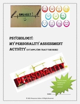 My Personality Assessment Activity