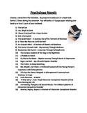 Psychology Novel List