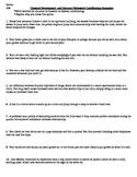 Psychology - Operant vs. Classical Conditioning scenarios