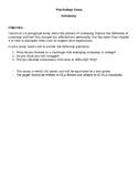 Psychology Paper: Autonomy