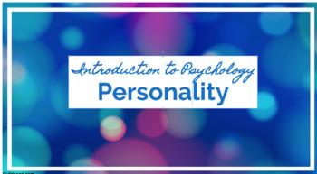 Psychology Personality Bundle