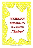 Psychology: Personality -Film Analysis 'Shine'