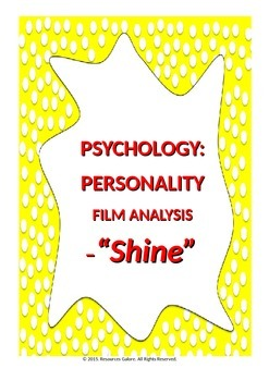 Psychology: Personality -Film Analysis 'Shine'