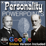 Psychology: Personality: PowerPoints with Presenter/Lecture Notes & Quiz