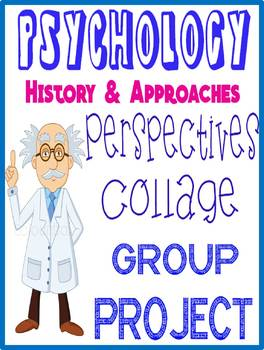 Psychology Perspectives Collage Group Activity