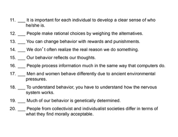 Psychology: Perspectives (Presentation)
