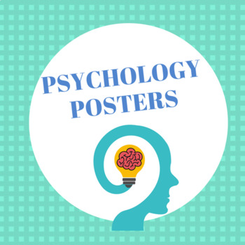 Psychology Posters (8.5 x 11)