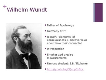 Psychology PowerPoint :: History