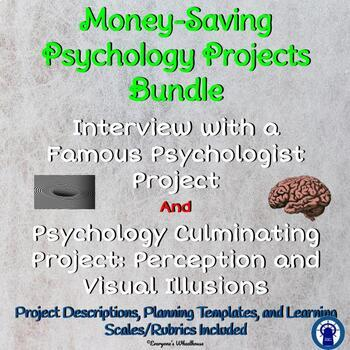 Psychology Projects Bundle: Interview with a Psychologist/Perception Project