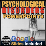 Psychology: Psychological Disorders PowerPoints with Video Links & Lecture Notes