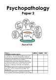 Psychology Psychopathology revision guide
