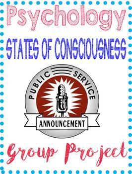 Psychology Public Service Announcement Project Consciousne