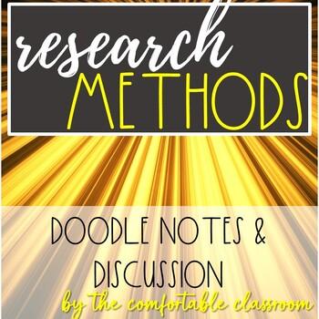 Psychology Research Design: Methods Card Sort