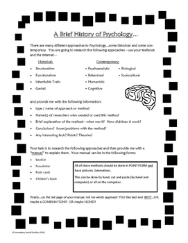 Psychology Research Project