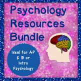 Psychology Resource Bundle