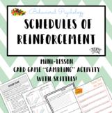 Psychology: Schedules of Reinforcement