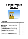 Psychology Schizophrenia revision guide