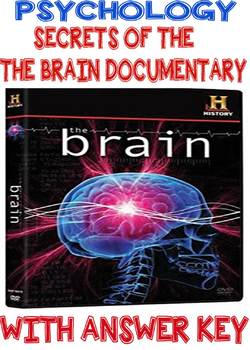 Psychology Secrets of the Human Brain Documentary Questions w/KEY