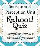 Psychology - Sensation and Perception Kahoot!