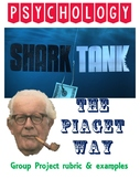 Psychology Shark Tank Piaget Cognitive Development Project