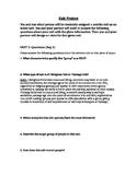 Psychology/Sociology Cult Project
