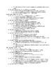 Psychology Standards List