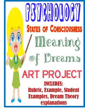 Psychology States of Consciousness Meaning of Dreams Art Project Rubric Examples